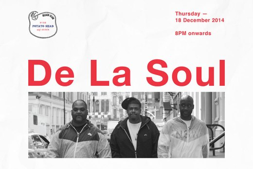 De La Soul – LIVE – 18.12.14 – Potato Head – Bali