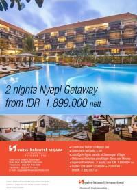 2 nights Nyepi gateaway at Swiss-Belhotel Segara