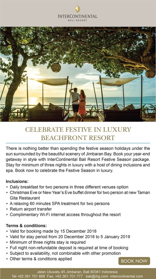 InterContinental Bali – OFFER