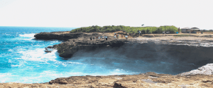 lembongan devil's tear wave