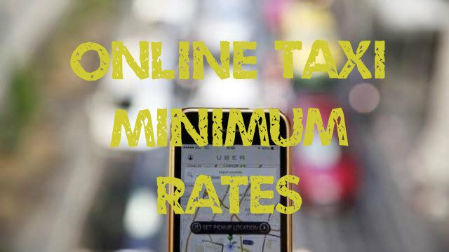 bali uber minimum rates