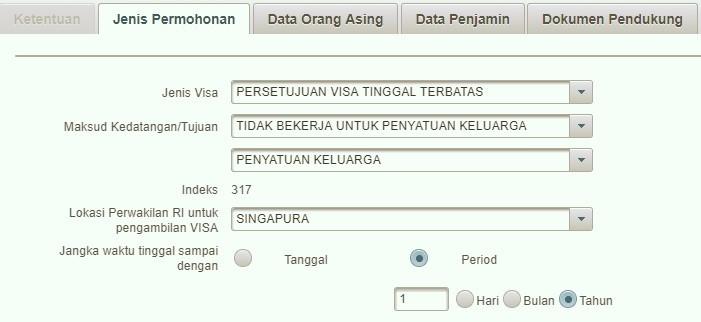 Indonesia spouse sponsored visa