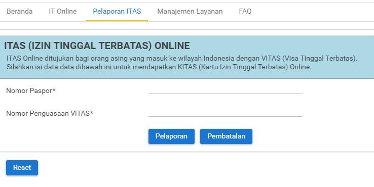 Indonesia family kitas report