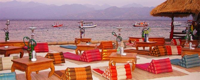 pesona resort gili trawangan restaurant balisolo
