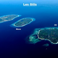 Les iles de Lombok : gili Meno, gili Air et gili Trawangan