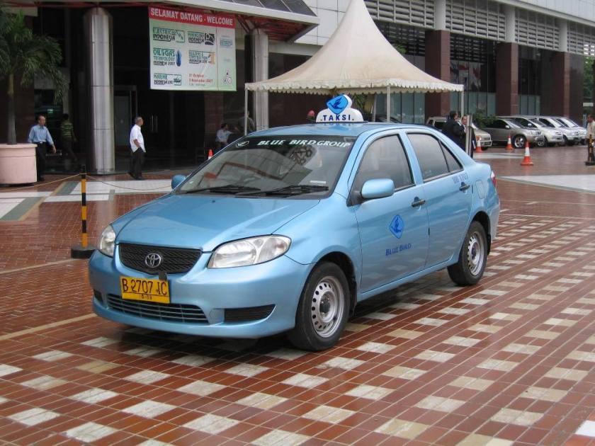 taksi taxi bluebird