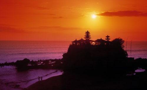Tanah Lot; Bali, Indonésie