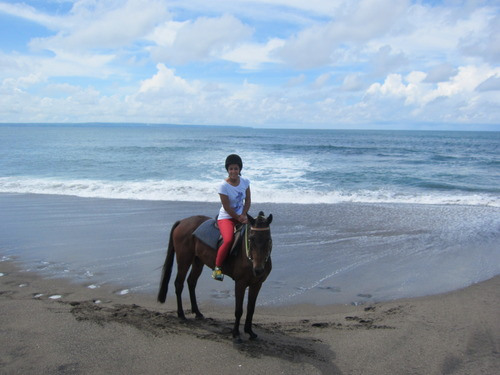 Balade à cheval à Canggu, Bali