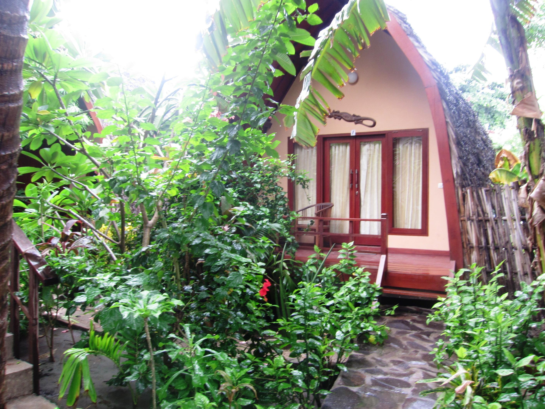 Banana Leaf bungalows à Gili Trawangan