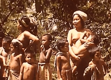Bali en 1940, images d'archives