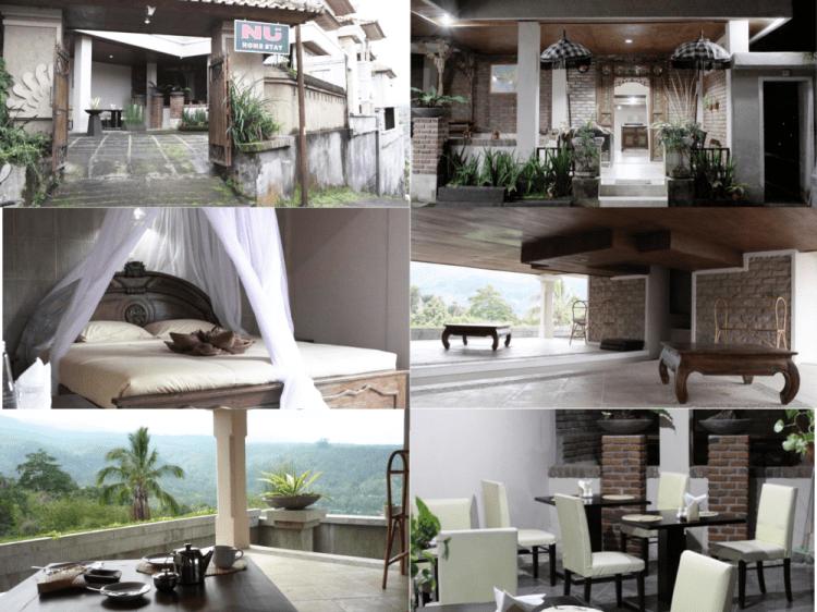 Nu Homestay Munduk Bali Indonésie