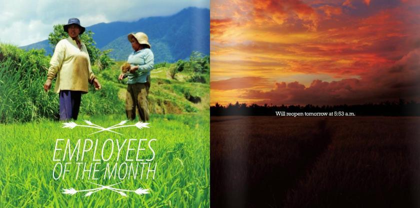 Les employées du mois !