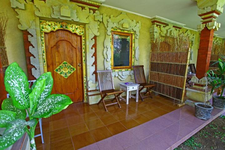 Se loger à Sanur - Terrasse - le Café Locca Homestay - Balisolo_2