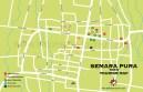 Carte de Semara Pura à Bali en Indonésie