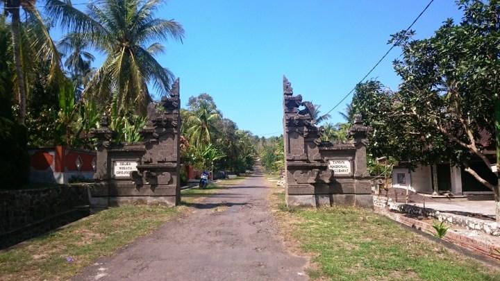 Entrée Taman Nasional Li Barat (ouest de Bali) avec Agus - Balisolo 2015115