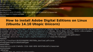 How to install Adobe Digital Editions on Linux (Ubuntu 14.10 Utopic Unicorn)