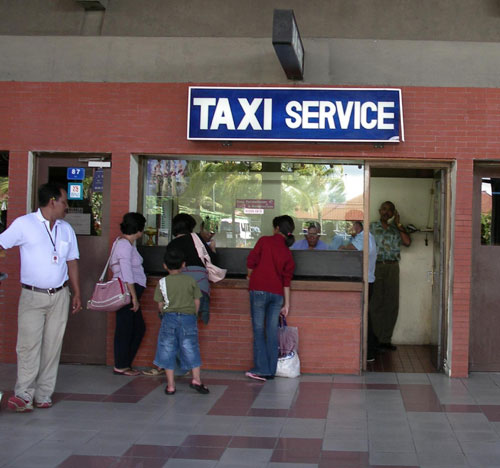 Old Bali airport taxi rates