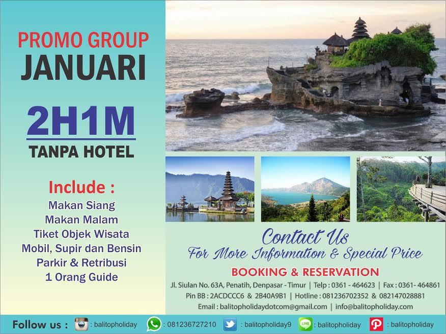 Promo Group Tanpa Hotel