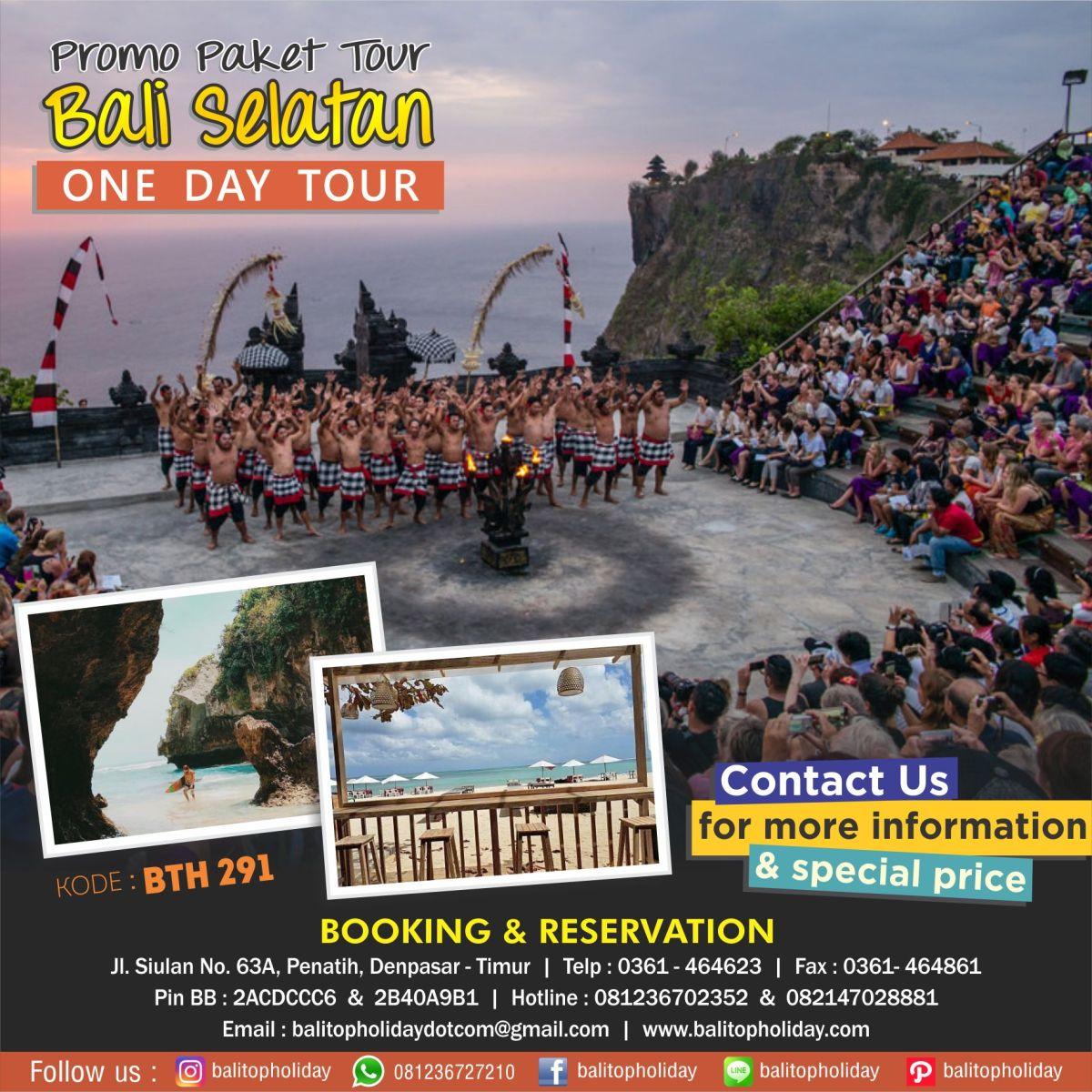 Bali selatan One Day Tour BTH 291