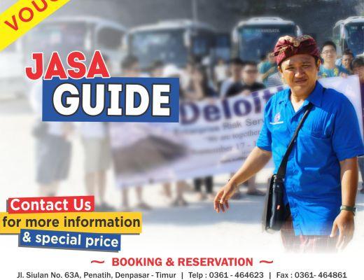 Tour guide di Bali