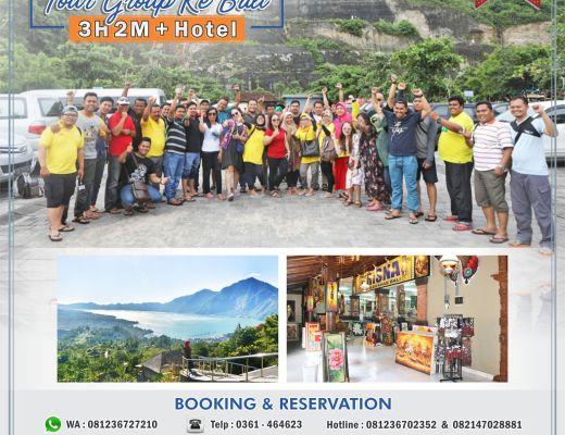 Paket tour Bali group 3H 2M