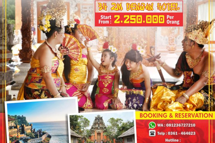 Paket Imlek 3H 2M Bali Culture Start From