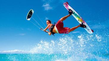 bali, kite surfing, wave, water sport, sanur, canggu, beach, surfing