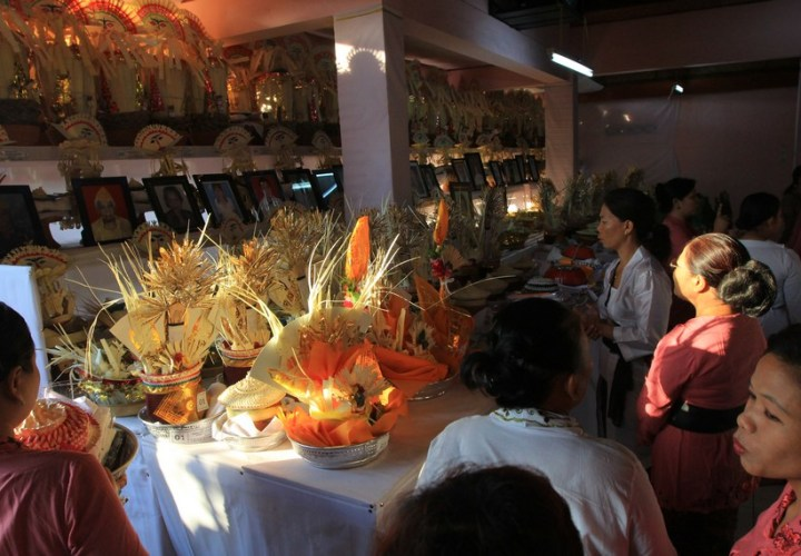 The uniqueness of Ngaben ceremony in Bali