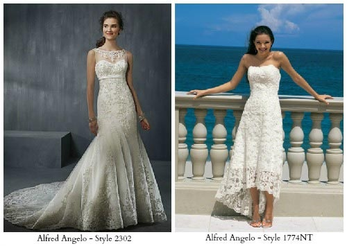 Favorite Style For Beach Wedding Gown