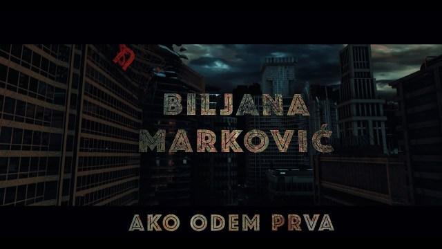 """Biljana Marković predstavila spot za pesmu """"Ako odem prva"""""""