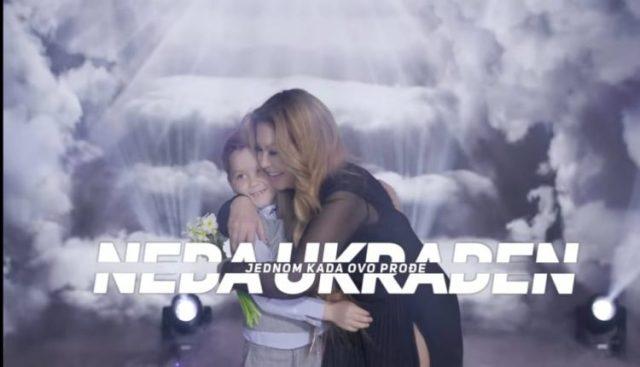 """Neda Ukraden u pjesmi """"Jednom kada ovo prođe"""" poručuje: Jedva čekam dobri ljudi da se opet zagrlimo"""