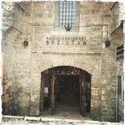 Bezistan, die alte Markthalle aus dem 16. Jahrhundert, wird bis heute als Basar benutzt. (Foto: balkanblogger)