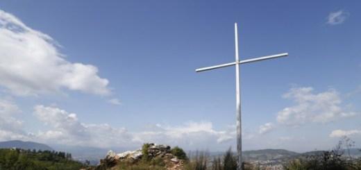Das umstrittene Kreuz auf Zlatiste