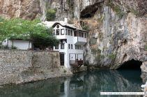 Ein Ort der Ruhe und der Mystik: Die Tekke in Blagaj an der Quelle des Flusses Buna