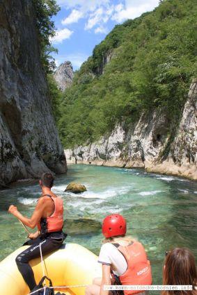 Der smaragdgrüne Fluss Neretva ist ein Rating-Paradies