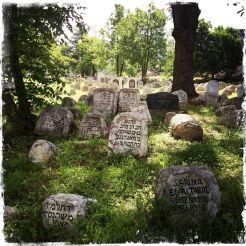 Die ältesten Grabsteine sind nur dort in Form eines … (Foto: balkanblogger)