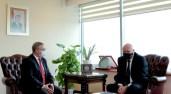 Bulgaristan Kültür Bakanı Minekov, akademisyenlik yaptığı Trakya Üniversitesini ziyaret etti