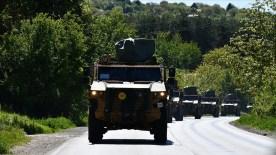 """""""Steadfast Defender 21"""" NATO tatbikatı için yola çıkan birlikler Bükreş'e ulaştı"""