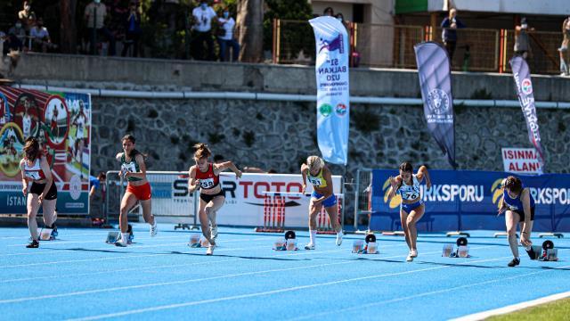 51.Balkan20 Yaş Altı Atletizm Şampiyonası başladı