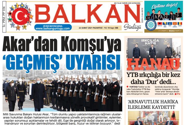 Balkan Gazetesi TRT Kahvaltı'da