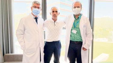 Arnavutluk'tan geldi Türkiye'de şifa buldu