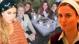 'Asmalı Konak' kadınları buluştu! 'Nasıl özlemişiz'