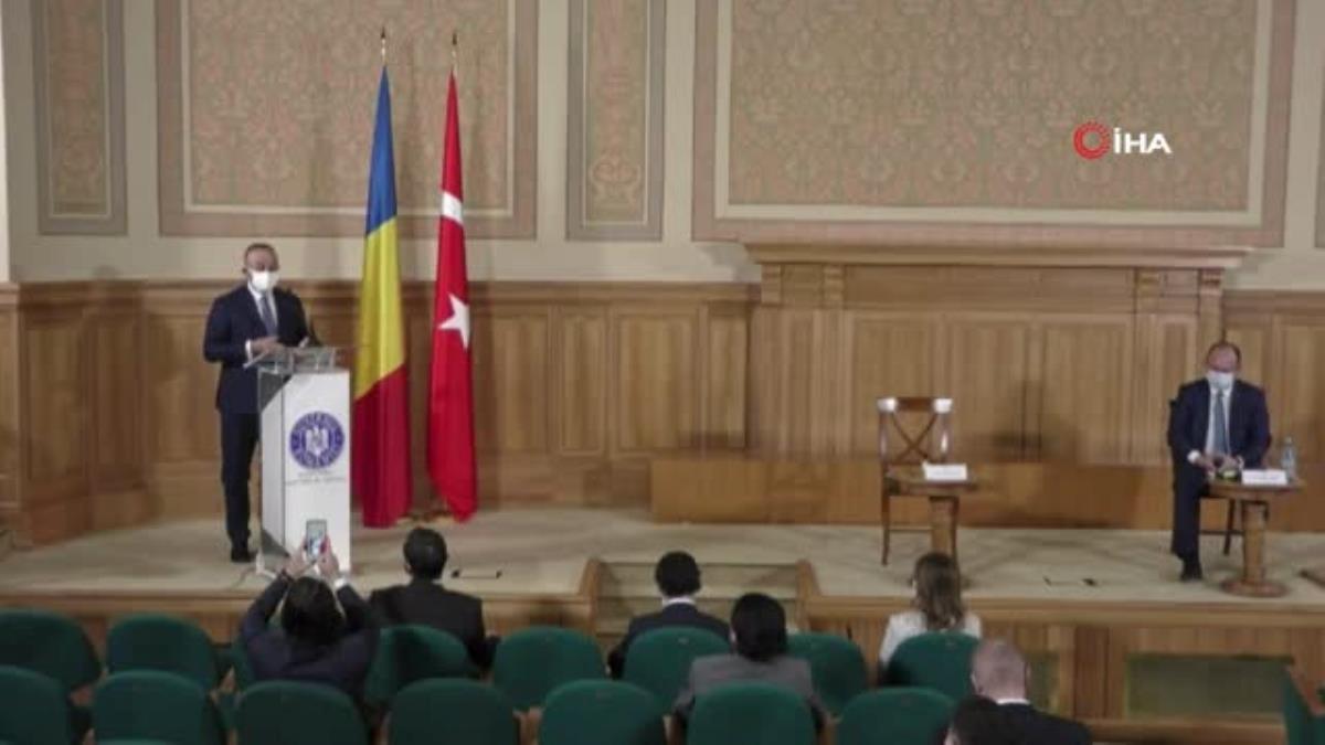 """– Bakan Çavuşoğlu: """"Romanya, Balkanlar'daki en önemli ortaklarımızdan biri"""""""