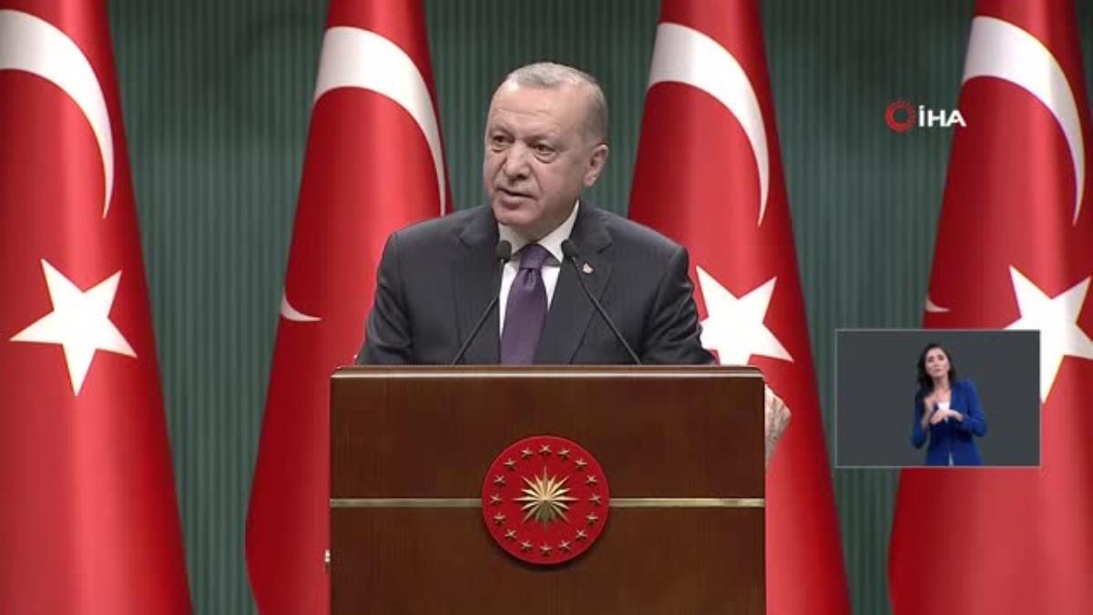"""– Cumhurbaşkanı Erdoğan: """"29 Nisan Perşembe akşamı saat 19.00'dan 17 Mayıs Pazartesi sabahı saat 05.00'e kadar sürecek şekilde tam kapanmaya…"""