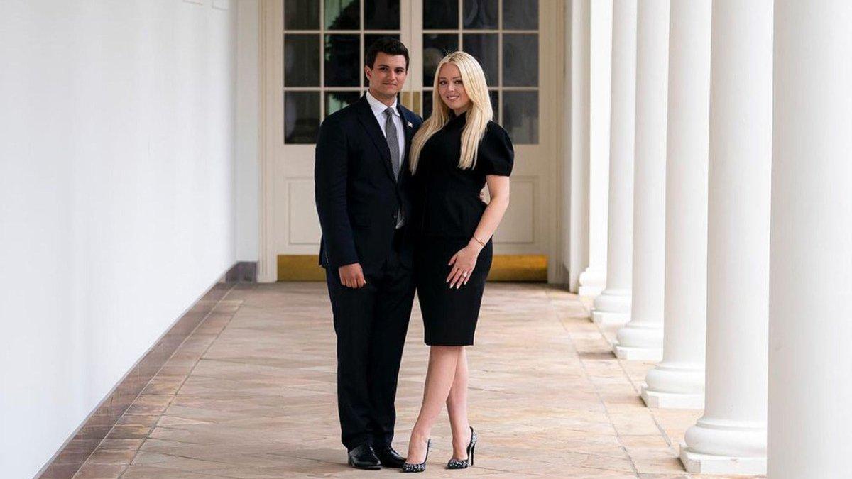 Donald Trump'ın kızı Beyaz Saray'dan ayrılmadan nişan yaptı