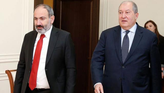 Ermenistan Cumhurbaşkanı Sarkisyan'dan Paşinyan'a ikinci kez veto