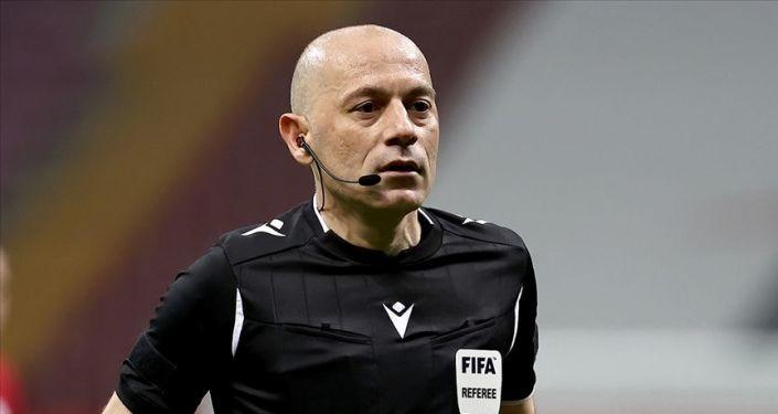 EURO 2020'de Cüneyt Çakır'a yeni görev