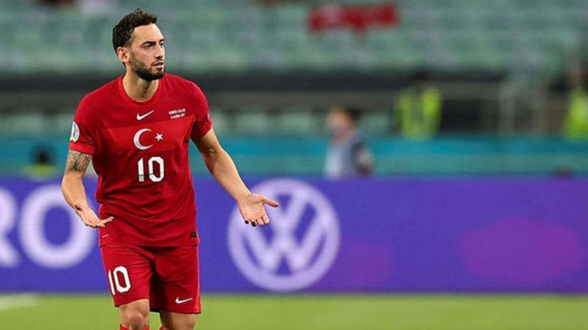 EURO 2020'ye veda sonrası Hakan Çalhanoğlu'ndan ilk sözler: Buraya kadar biz başardık, burada da biz elendik
