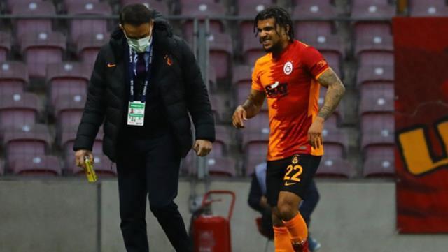 Galatasaray'dan Yedlin paylaşımı: Dün geceden bir kare, yorumsuz