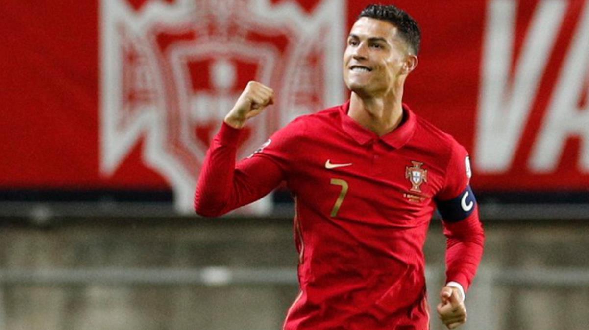 Her maç kırılacak bir rekor buluyor! Portekiz'i sırtlayan Ronaldo yine tarihe geçti